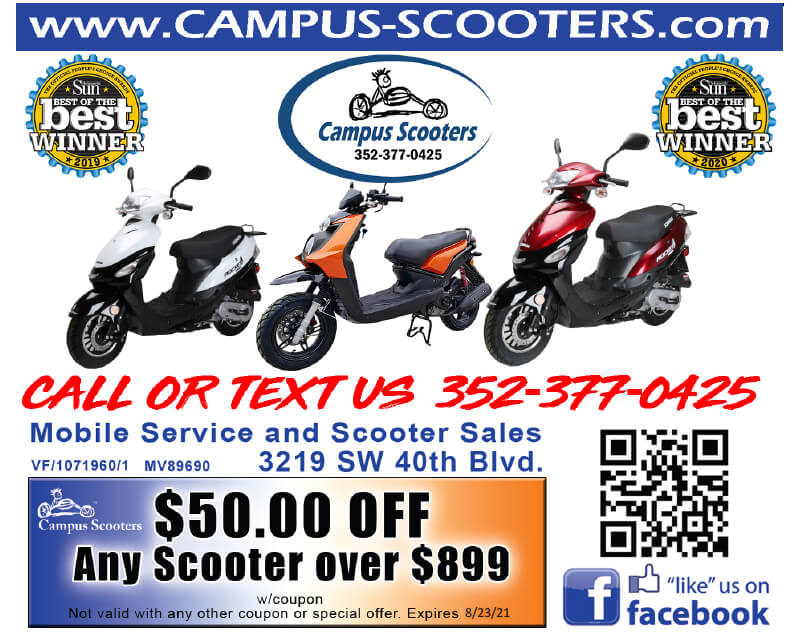 campus scooters