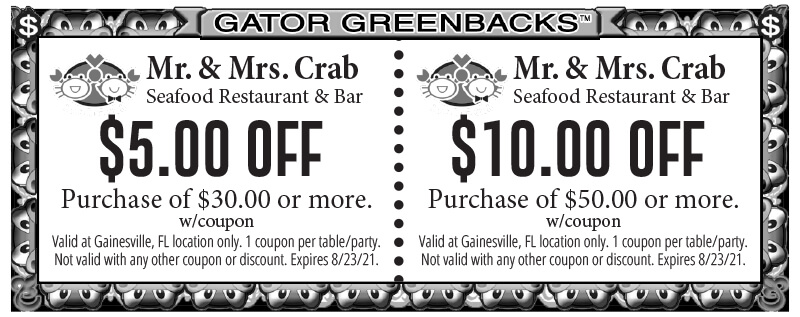 mr and mrs crabs