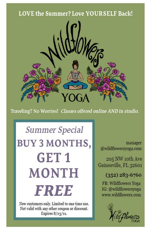 wildflowers yoga